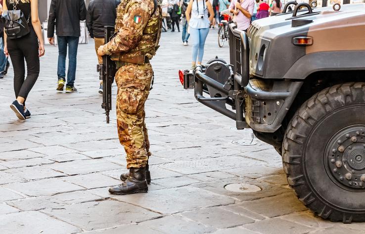 In Sicilia in campo l'esercito per sanificare