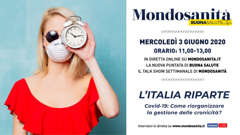 Talk-webinar Buona Salute: L'ITALIA RIPARTE
